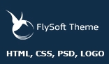 Flysoft Theme HTML, PSD, LOGO vector
