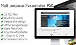 Omicron-multipurpose wordpress responsive PSD
