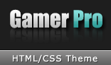 GamerPro - HTML Theme