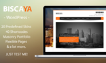 Biscaya WP - MultiPurpose Theme