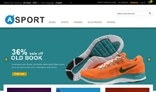 magento sport theme mp_asport for sporting goods store