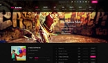 My Band HTML Template