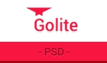 Golite - Multipurpose PSD Template