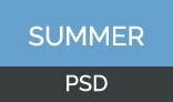 summer one page psd template