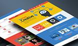 Viavi Multi Colored One Page HTML