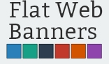 Flat Web Banners