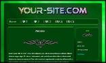 HTML Responsive - Green