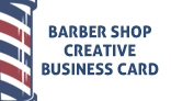 Barber Shop Creative Business Card