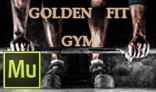 Golden Fit Gym Template