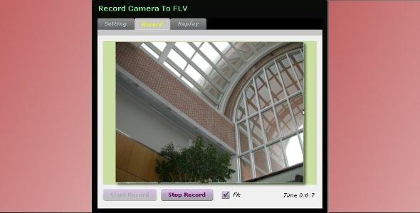 Record Camera To FLV