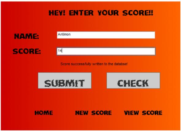 xD High Scores