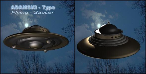 Adamski type Flying Saucer