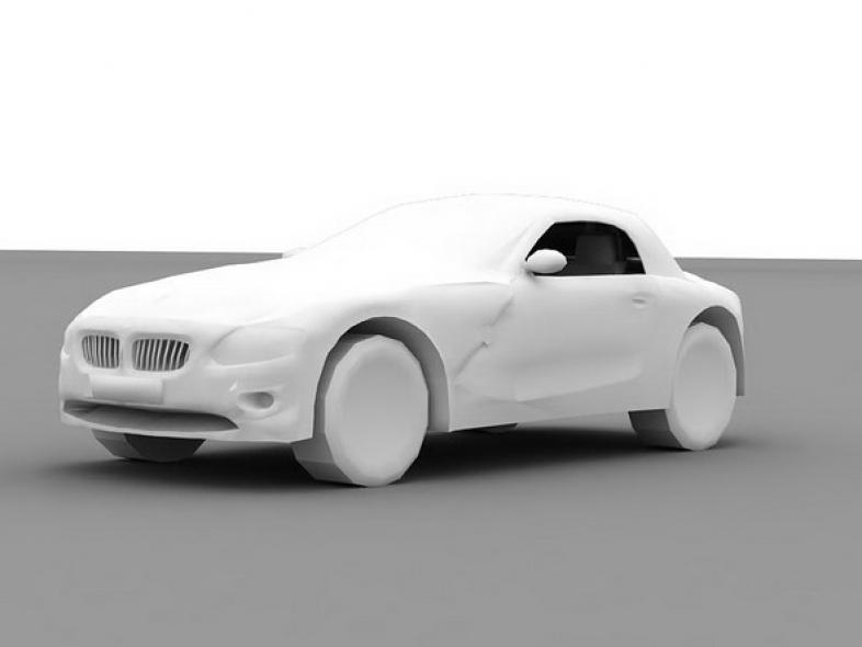BMW Z4 no textures