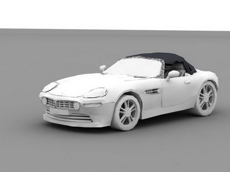 BMW Z8 no textures