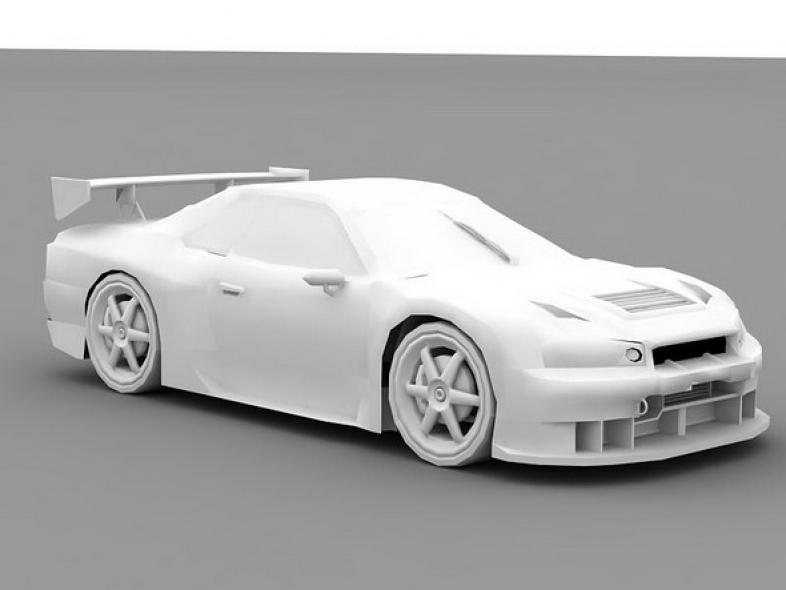 Nissan Skyline no textures
