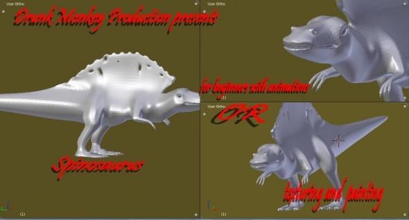 spinosaurus from DrunkMonkey