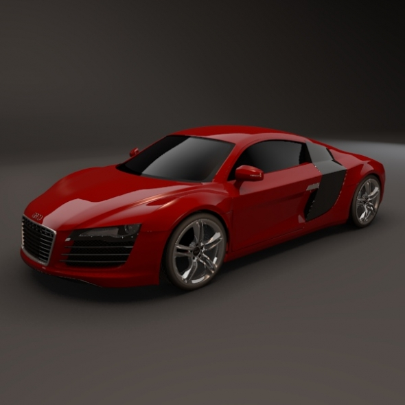 Audi R8 restyled