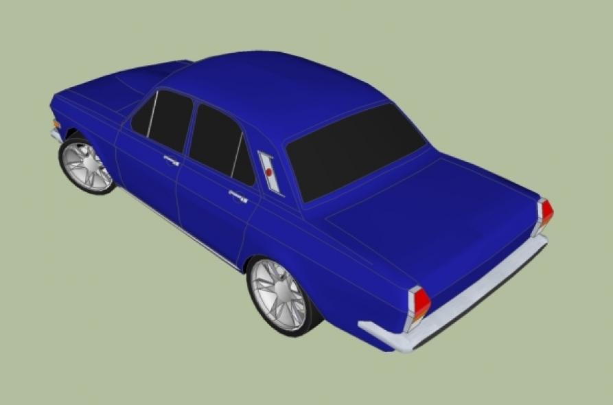 Car Volga