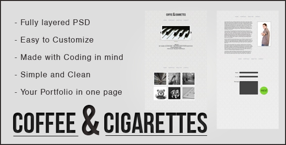 Coffee & Cigaretts Theme