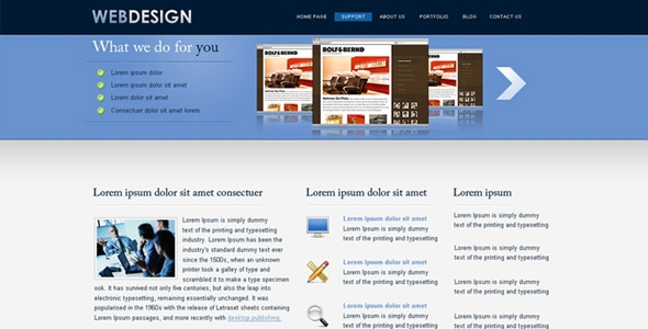 Web Design simple