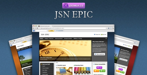 JSN Epic – Responsive Joomla Business Template