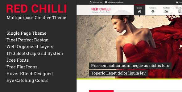 Red Chilli Multipurpose Creative Theme