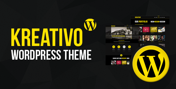 Kreativo Responsive Wordpress Theme