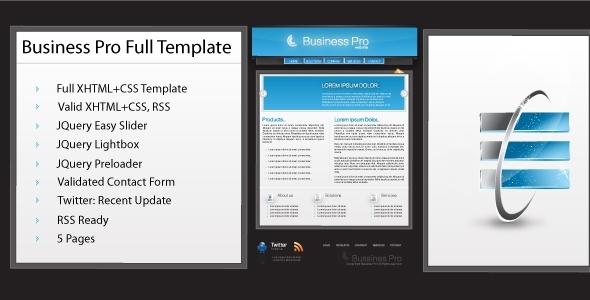BuyStockDesign - Modern Business Pro/ Portfolio - RiP.by.frwnet