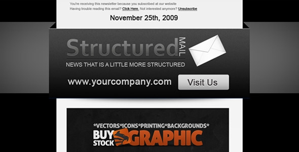 BuyStockDesign - Structured Mail - Rip
