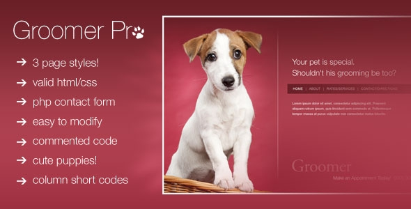 BuyStockDesign - Groomer Pro The Pempsell Design - RIP