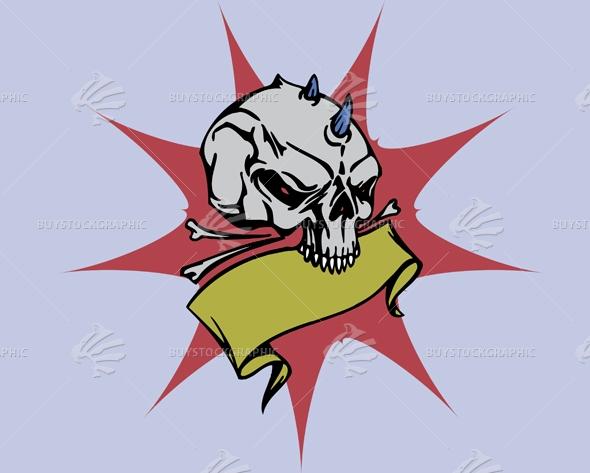 Spiked Skull