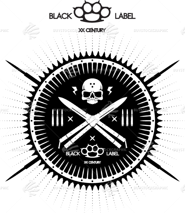 Black Label Badge
