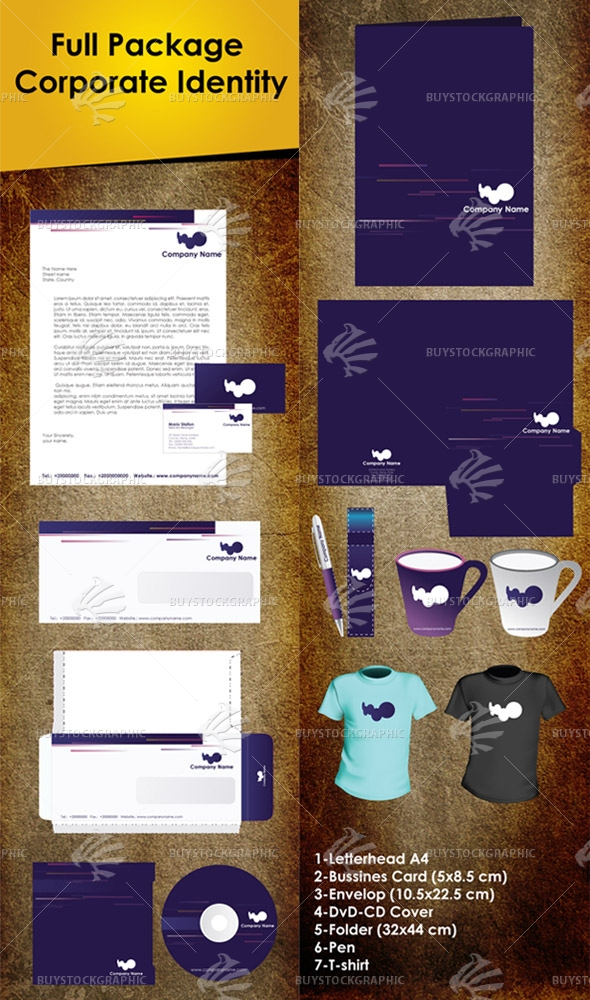 Full Package Corporate Identity