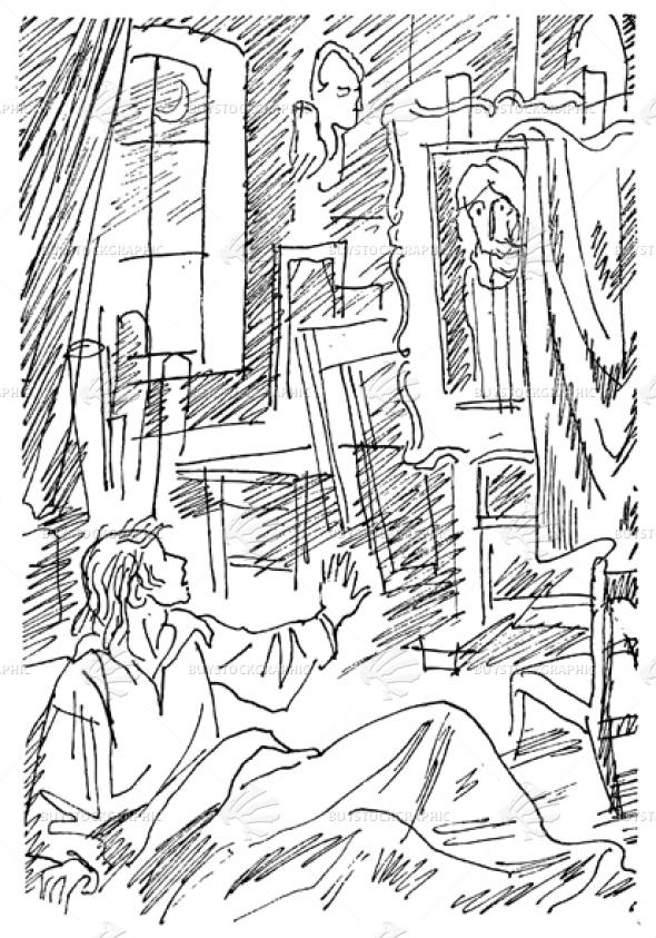 the man in his studio