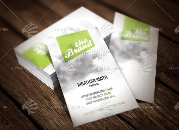 Light Unique Business Card