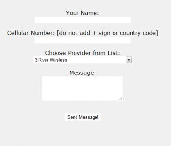 Free Txting Form