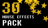 Mouse effects pack 30 mouse effects + variations