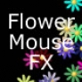Flowers mouse effect