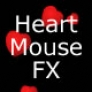 Heart mouse effect