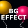 background effect balloon