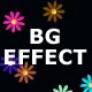 Background effect flower