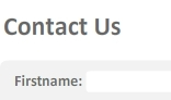 Flash PHP Contact Form