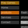 dynamic xml driven vertical menu