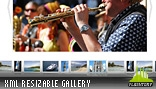 Iterium Resizable Horizontal Gallery w Scroller