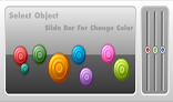 SliceBar For Change Color