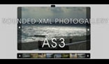 Rounded XML Photogallery AS3