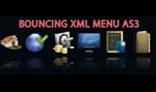 Bouncing Menu XML AS3