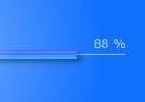 Blue Windows Vista like preloader