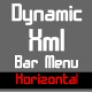 DYNAMIC XML BAR MENU V2 (HORIZONTAL)