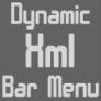 Dynamic XML Bar menu